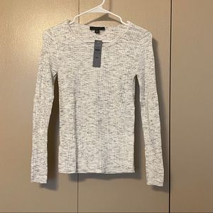 Sweaters - NWT Ann Taylor flecked ribbed knit top